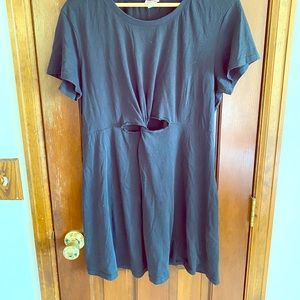 Mossimo T-shirt dress with keyhole detail